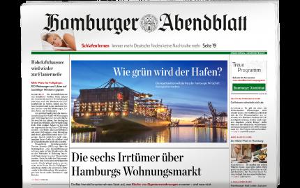 4 Wochen Hamburger Abendblatt gedruckt lesen