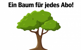 Weitere Abos mit Baumspende