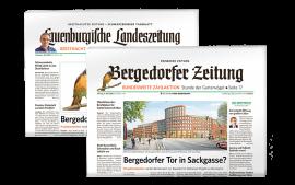 Sie möchten nur die Bergedorfer Zeitung lesen?
