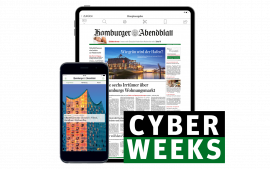 Cyber Weeks: Jetzt gratis Powerbank sichern!