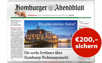 24 Monate Hamburger Abendblatt gedruckt lesen