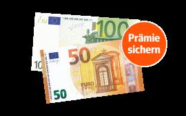 150 € direkt auf Ihr Konto