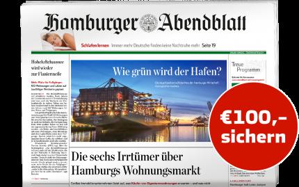 12 Monate Hamburger Abendblatt gedruckt lesen