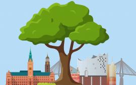 Ab 5,90 € lesen und Baum für Hamburg spenden!