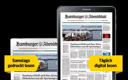 Wochenend-Abo: Digitale Zeitung + samstags die gedruckte Ausgabe