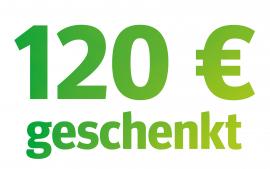 Die Kracher-Prämie: 100 € + 20 € extra!